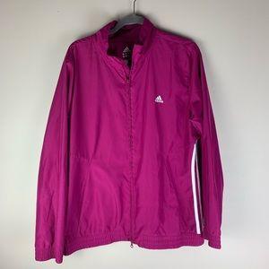 Adidas Magenta Track Jacket size XL